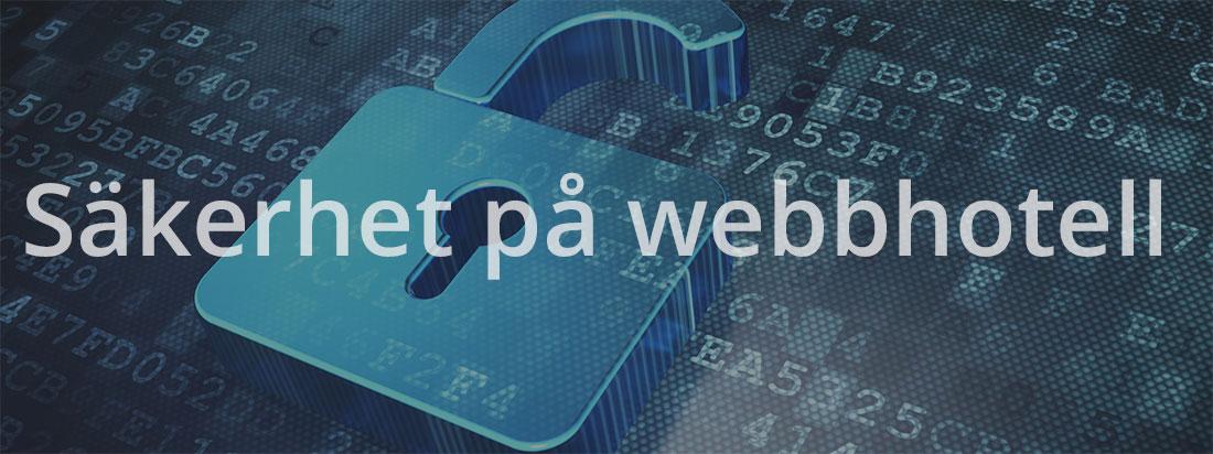 Svenska Webbhotell Säkerhet